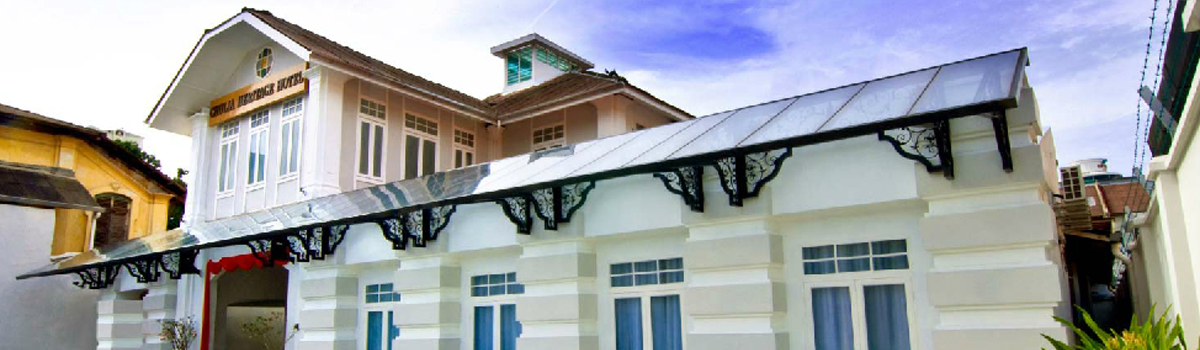 Chulia Heritage Hotel en Georgetown, Penang (Malasia)