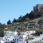 Acrópolis de Lindos, una visita obligada en Rodas (Grecia)
