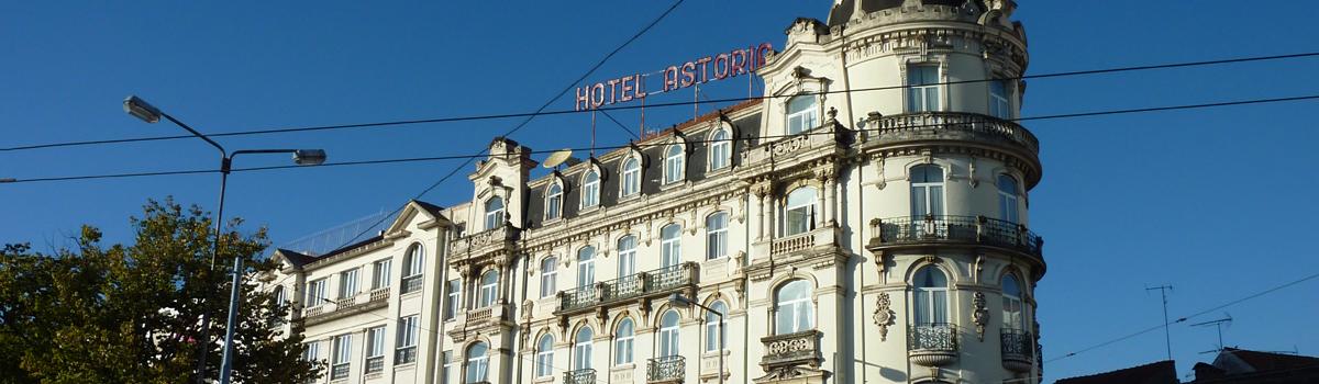 Hotel Astoria, 2 noche en el centro de Coimbra, Portugal