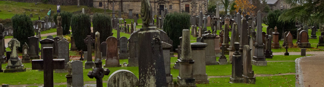 Cementerio de Holy Rude en Stirling (Escocia)
