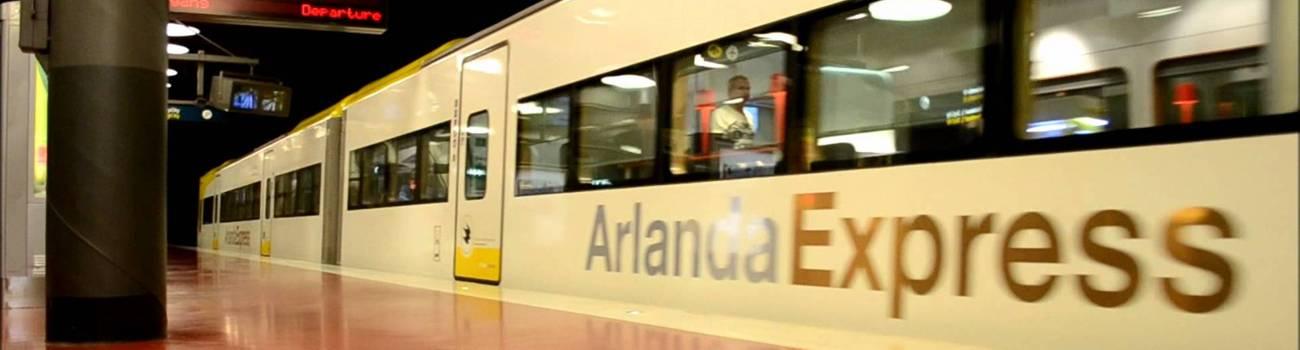 ir desde el aeropuerto de Arlanda a Estocolmo
