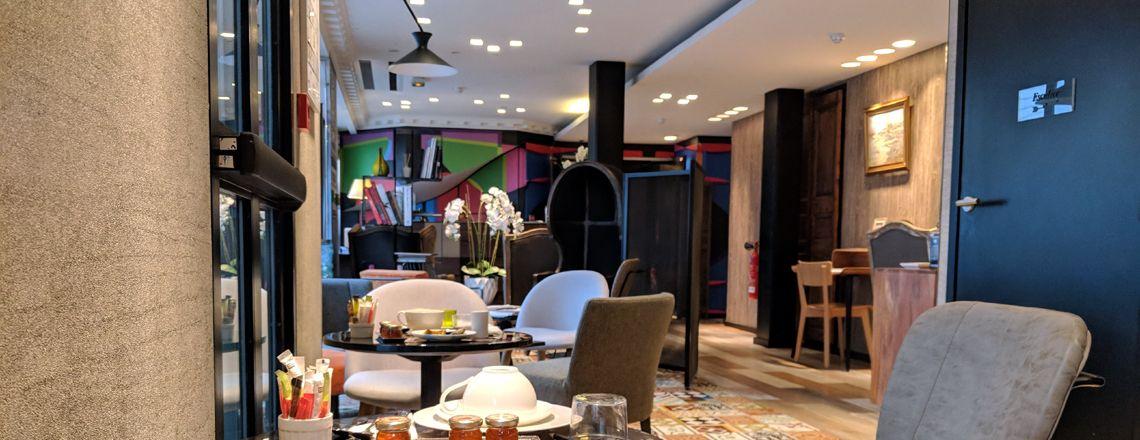 Hotel L' Antoine, un buen hotel en París