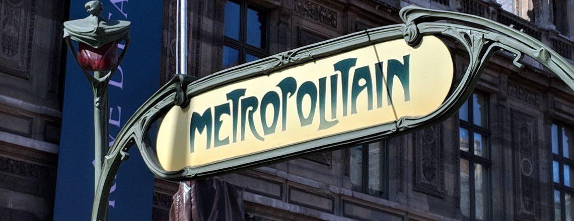 Rer y Metro de París