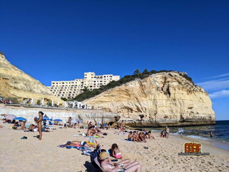 Praia Vale de Centeares en Carvoeiro